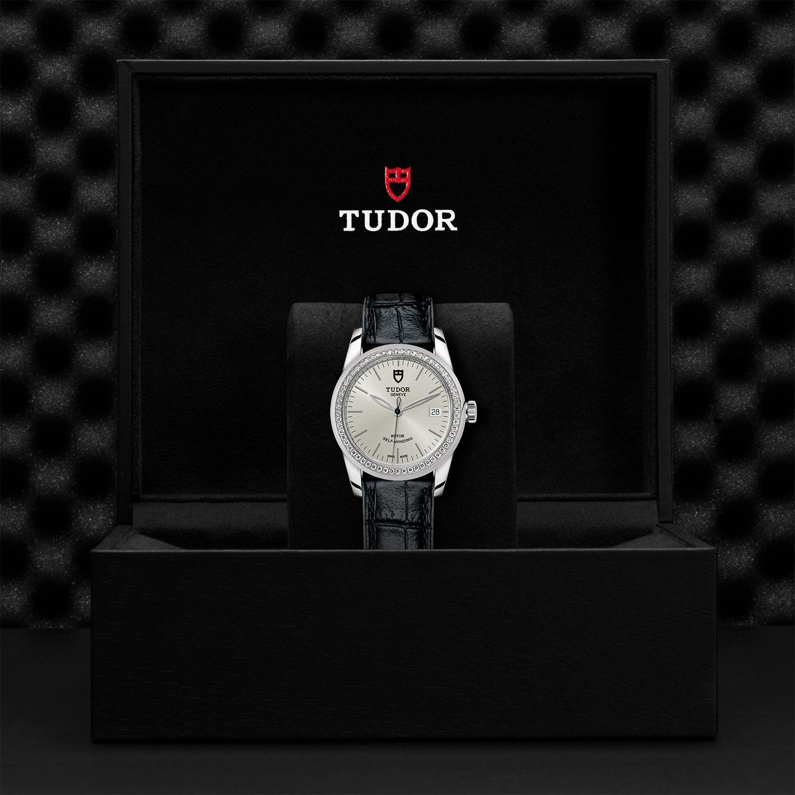 TUDOR Glamour Date M55020 0057 Presentationbox