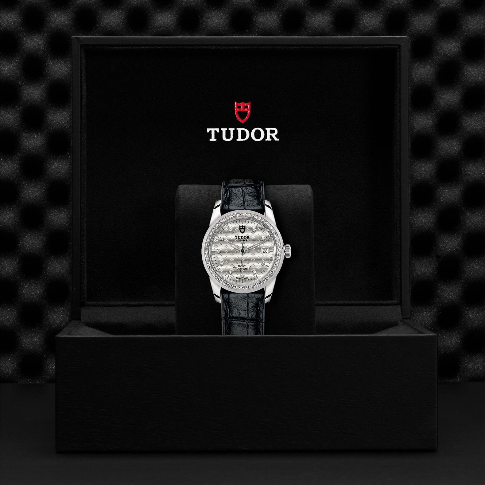 TUDOR Glamour Date M55020 0060 Presentationbox