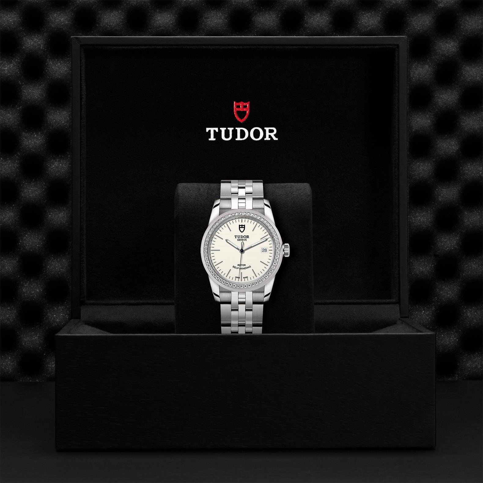 TUDOR Glamour Date M55020 0095 Presentationbox