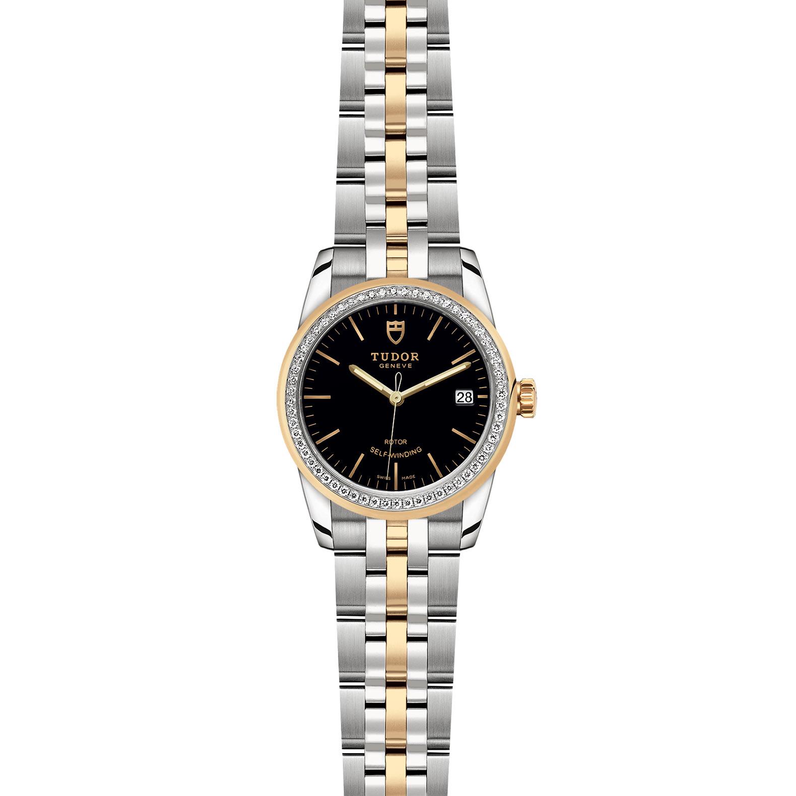 TUDOR Glamour Date M55023 0021 Frontfacing