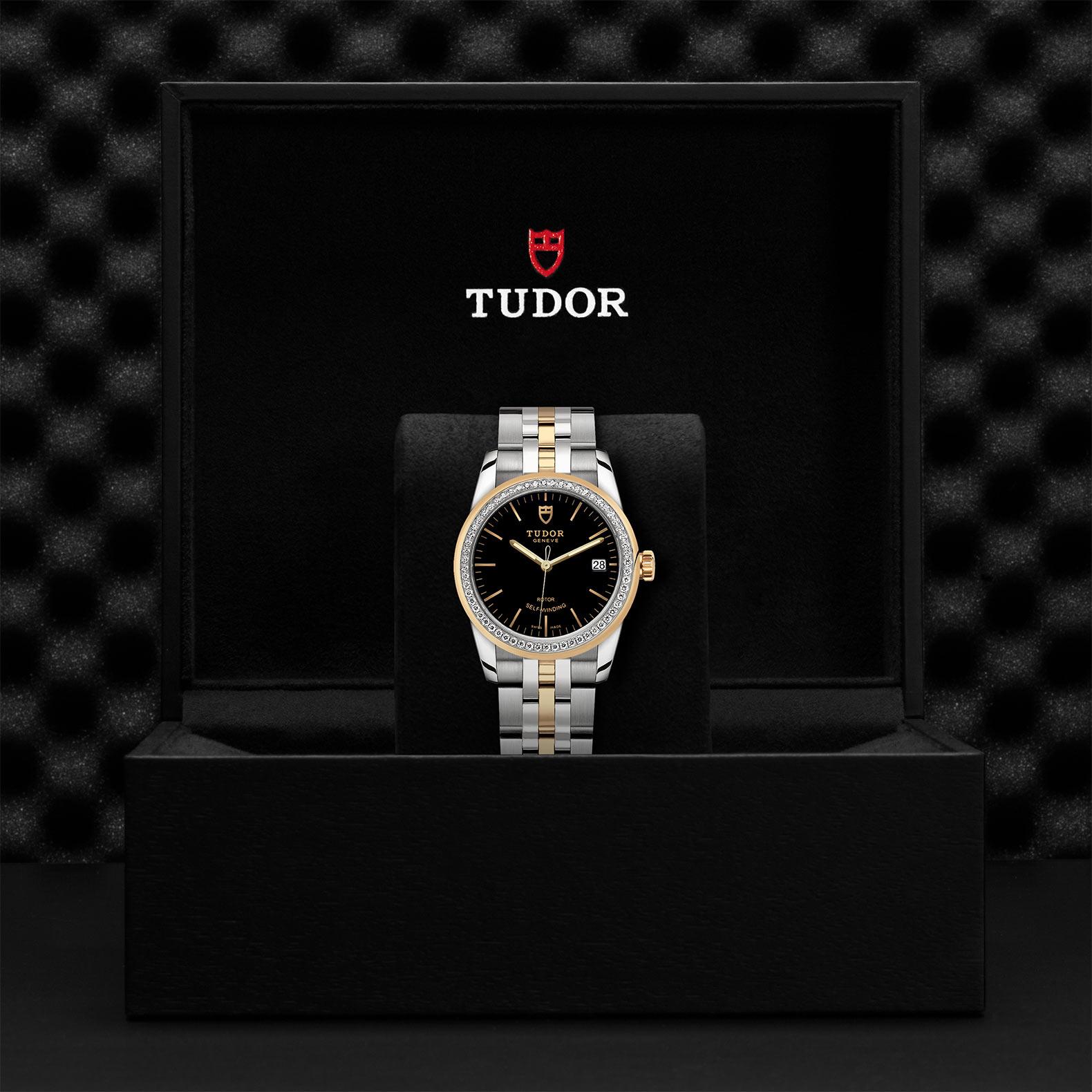 TUDOR Glamour Date M55023 0021 Presentationbox