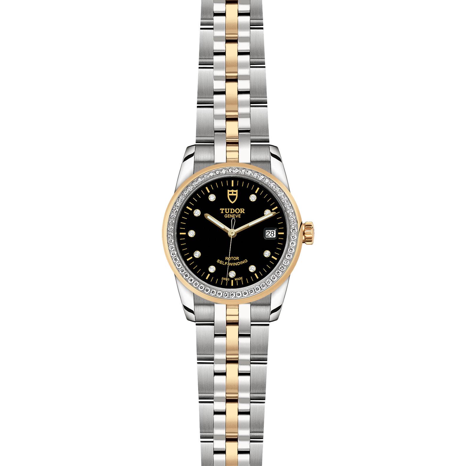 TUDOR Glamour Date M55023 0022 Frontfacing