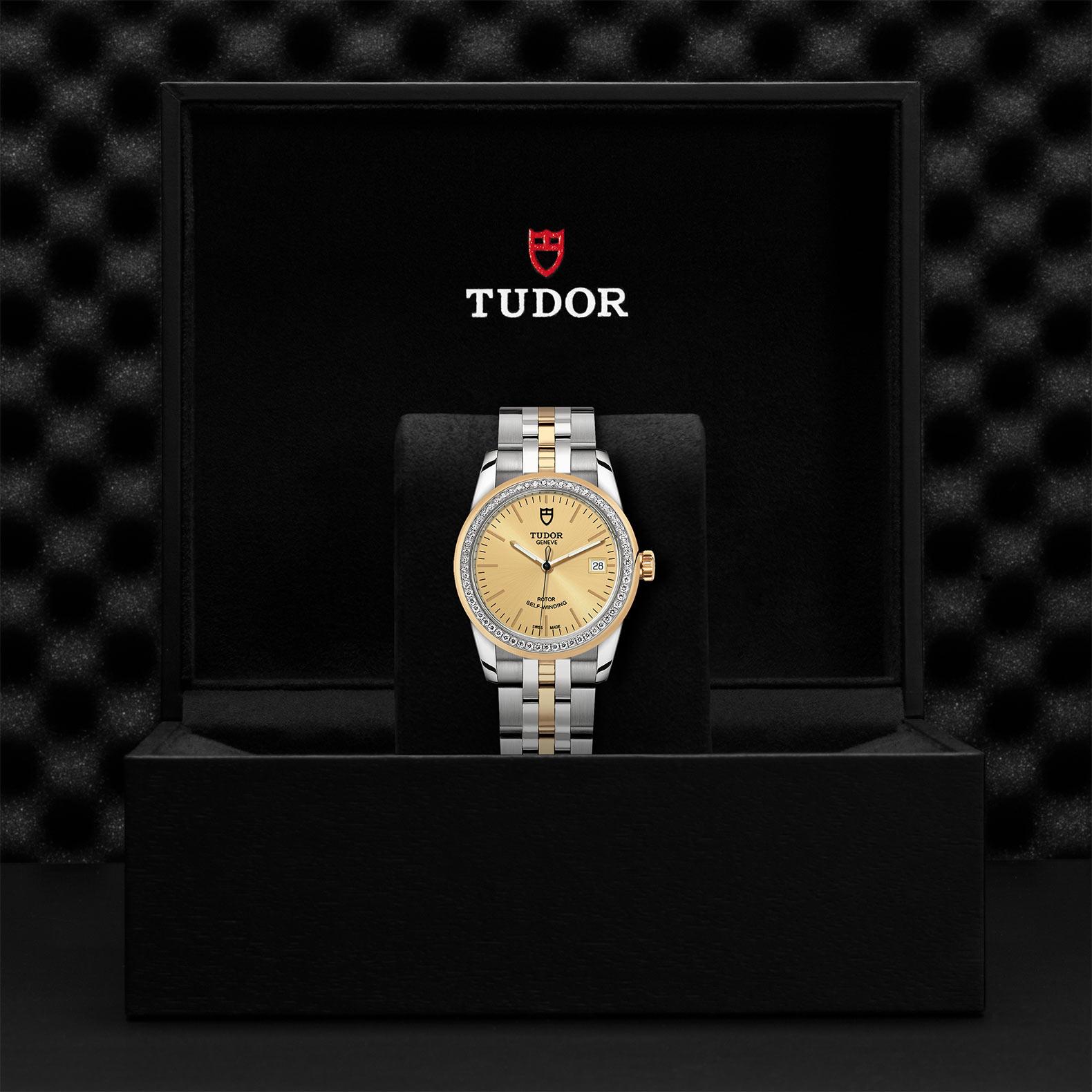 TUDOR Glamour Date M55023 0025 Presentationbox