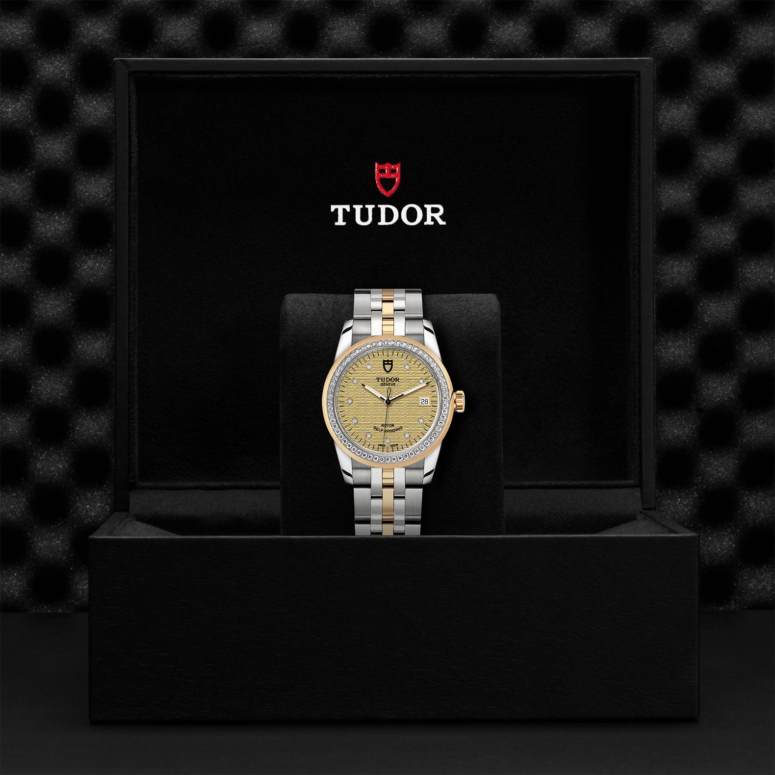 TUDOR Glamour Date M55023 0028 Presentationbox