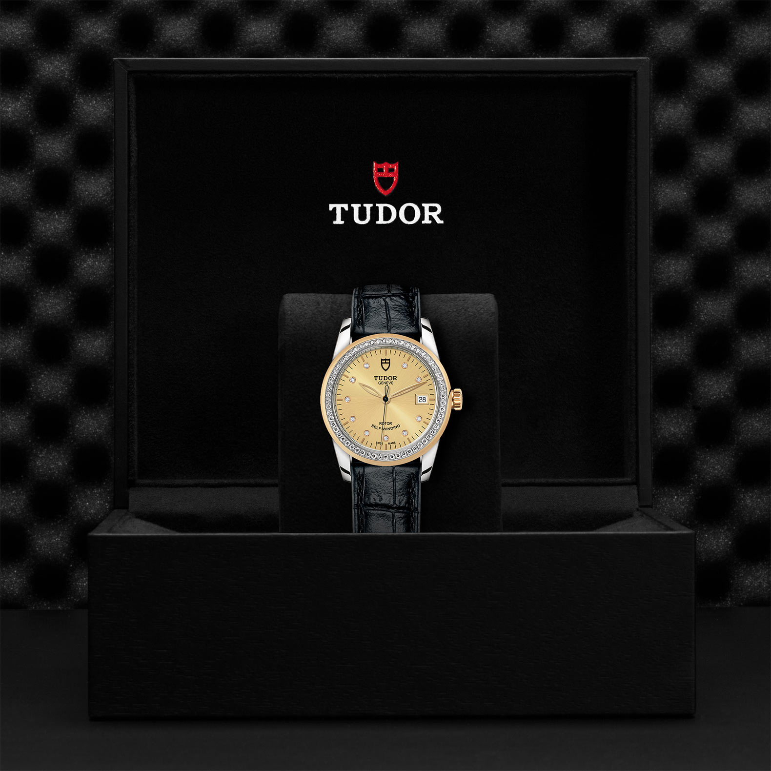 TUDOR Glamour Date M55023 0050 Presentationbox