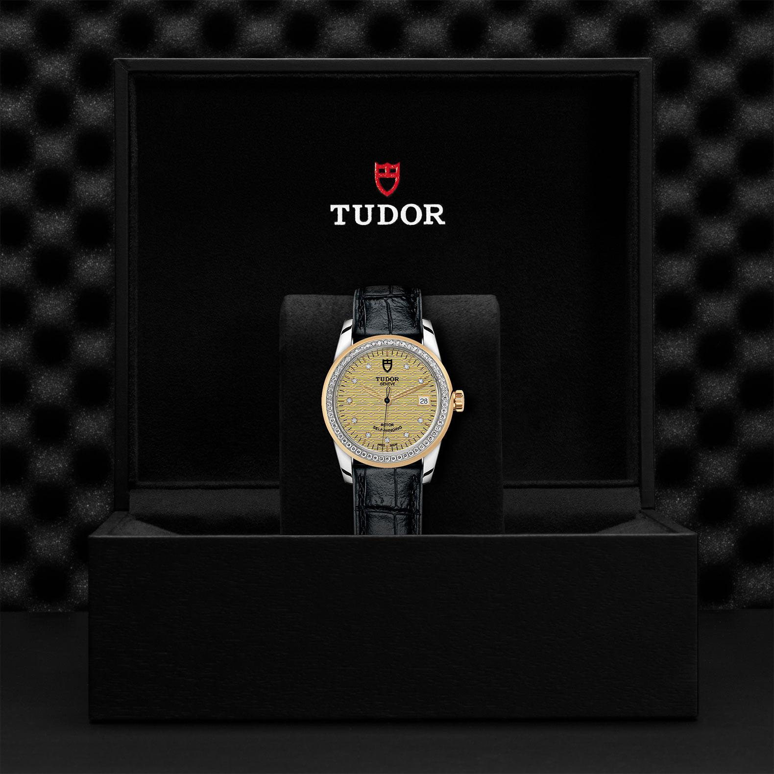TUDOR Glamour Date M55023 0052 Presentationbox