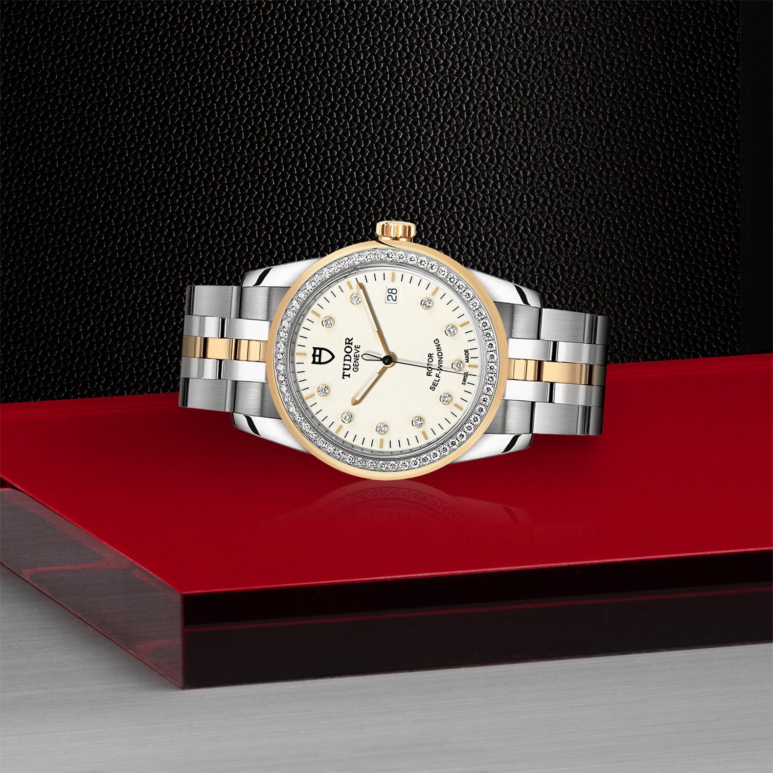 TUDOR Glamour Date M55023 0082 Layingdown