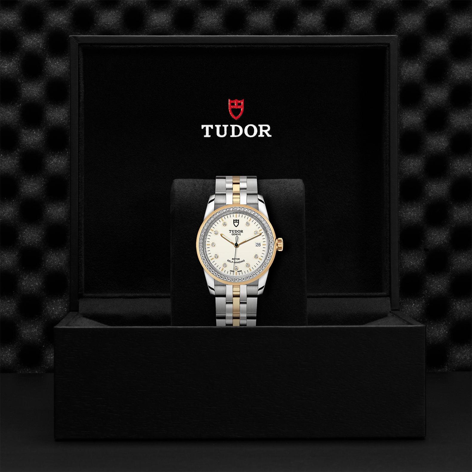 TUDOR Glamour Date M55023 0082 Presentationbox