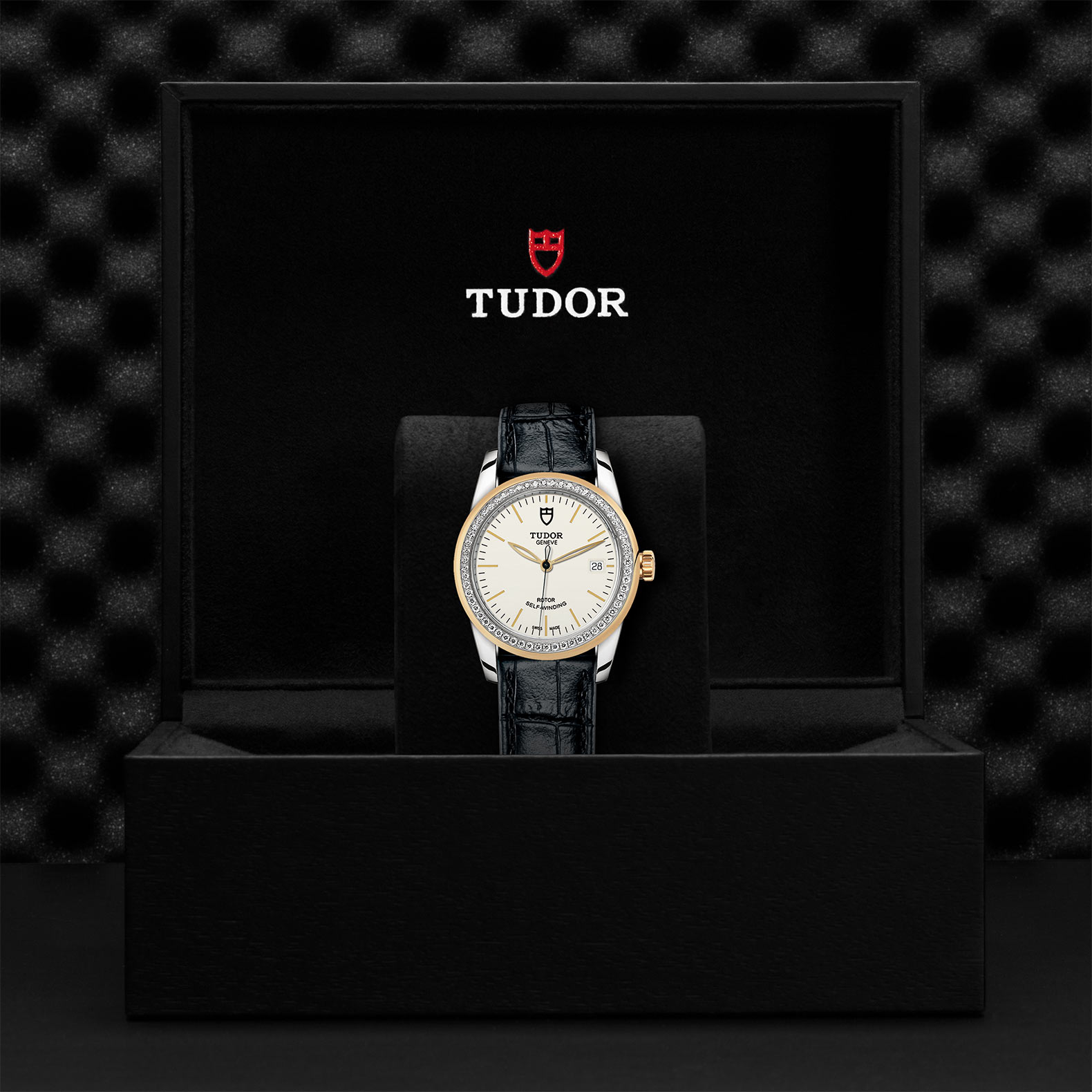 TUDOR Glamour Date M55023 0085 Presentationbox