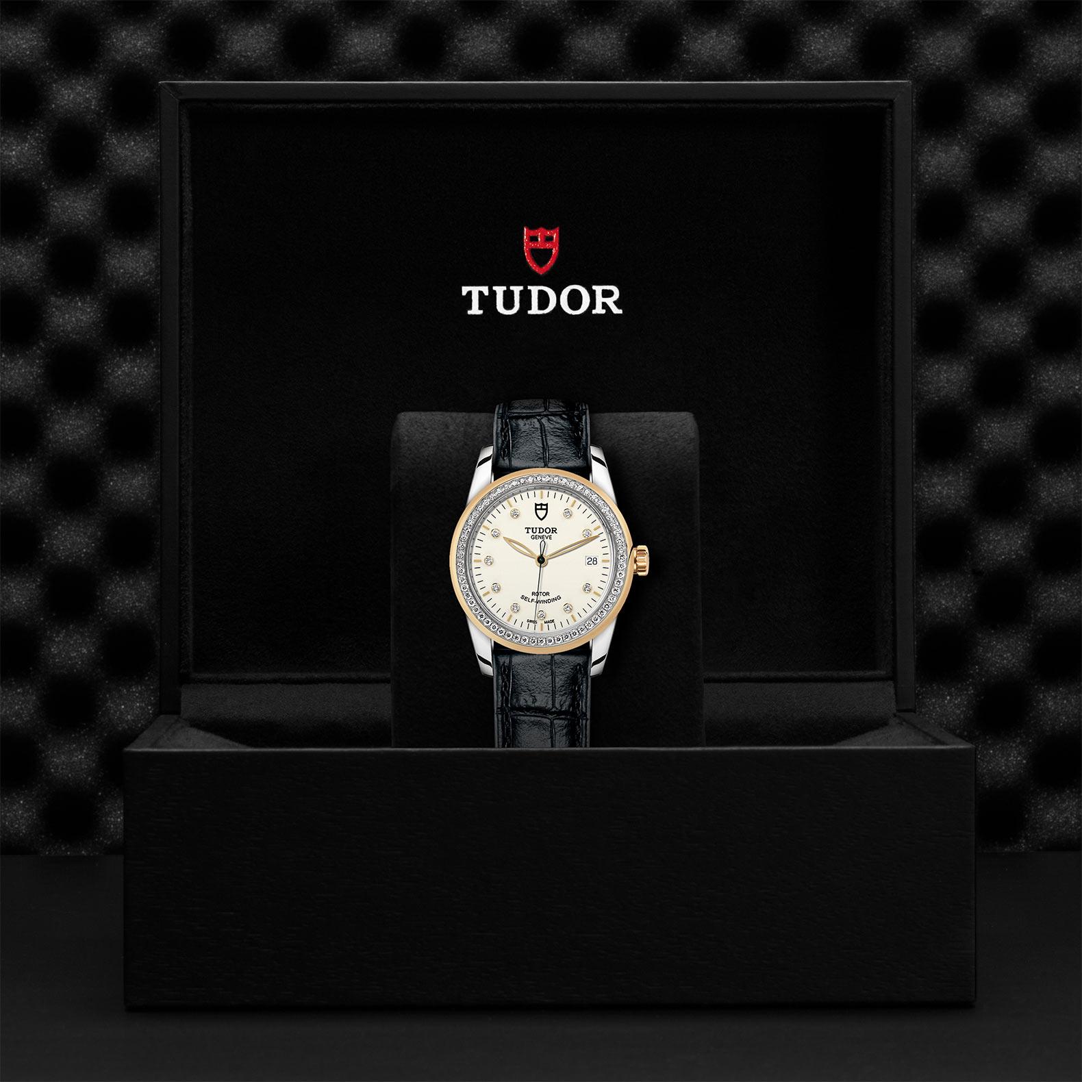 TUDOR Glamour Date M55023 0094 Presentationbox
