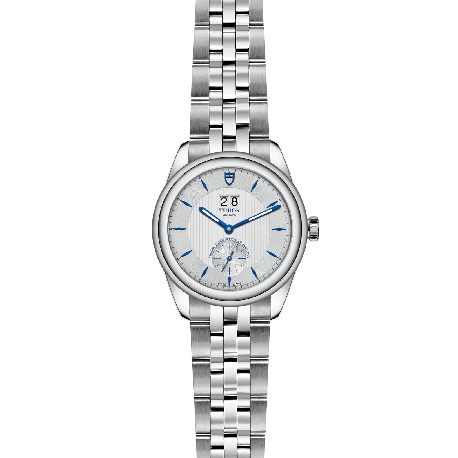 TUDOR Glamour Double Date M57100 0001 Frontfacing