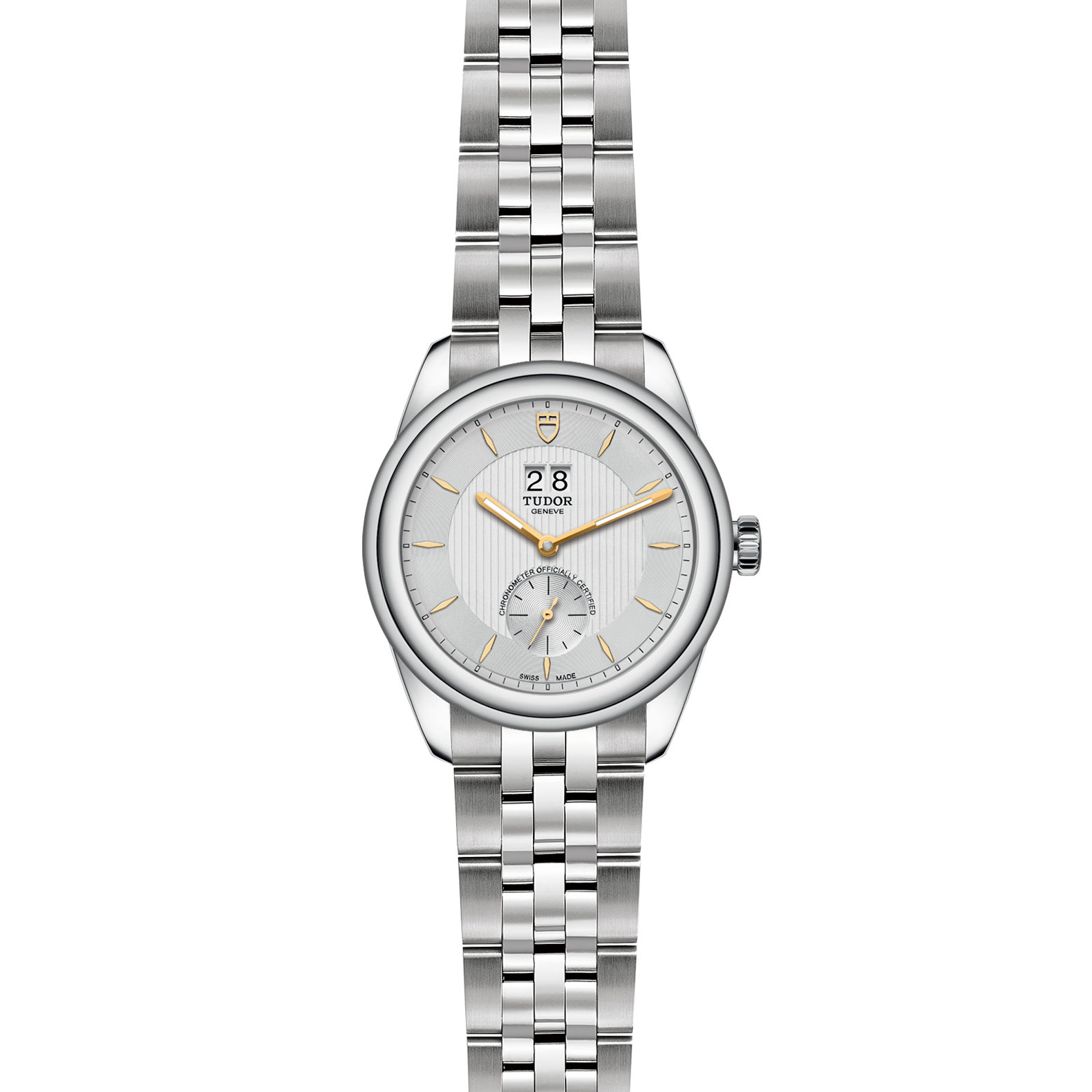 TUDOR Glamour Double Date M57100 0002 Frontfacing