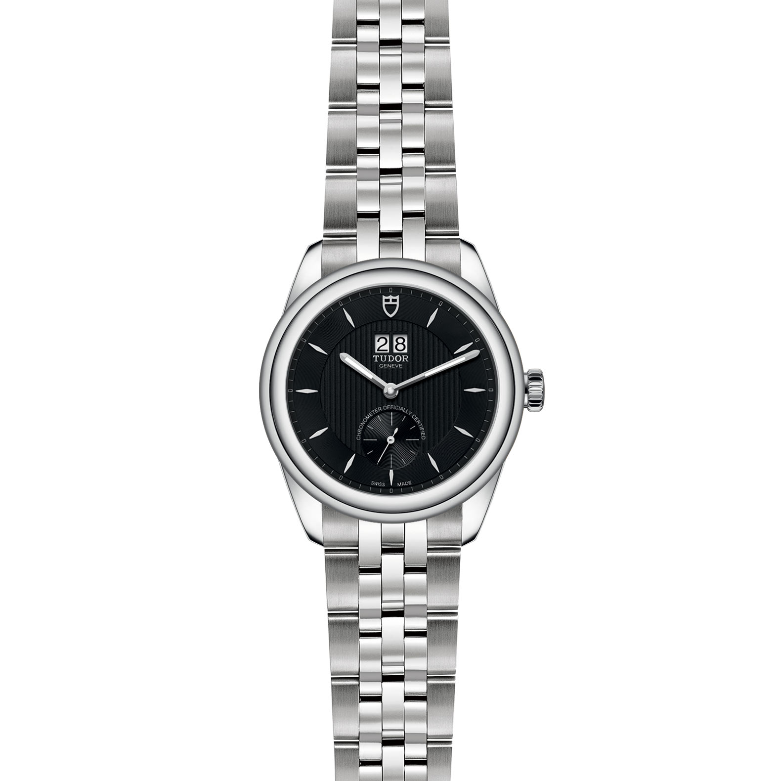 TUDOR Glamour Double Date M57100 0003 Frontfacing