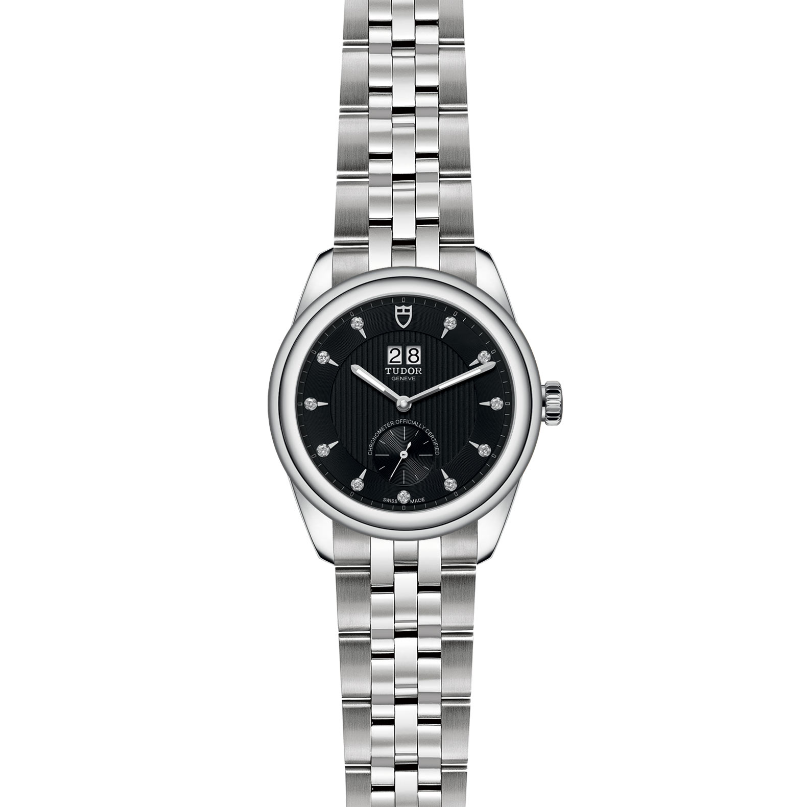 TUDOR Glamour Double Date M57100 0004 Frontfacing