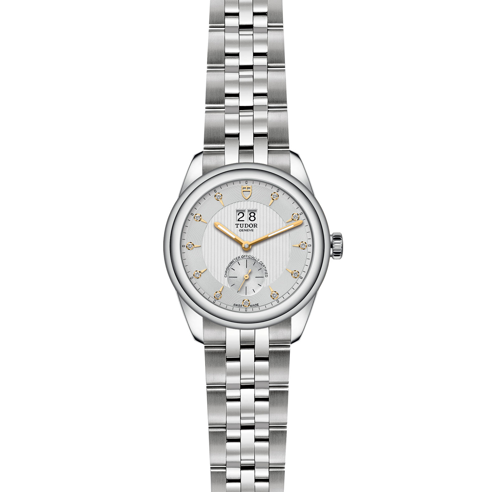 TUDOR Glamour Double Date M57100 0005 Frontfacing