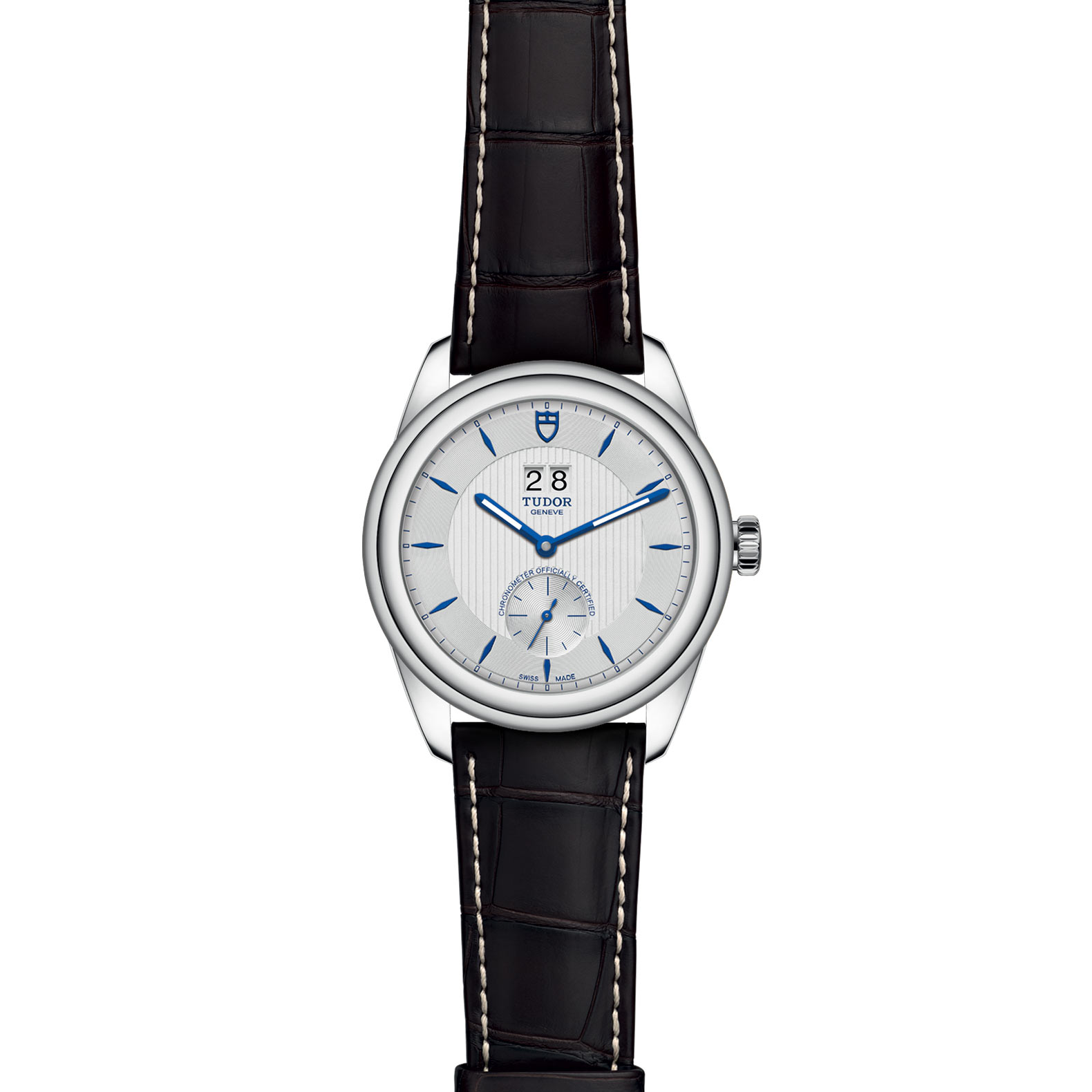 TUDOR Glamour Double Date M57100 0016 Frontfacing