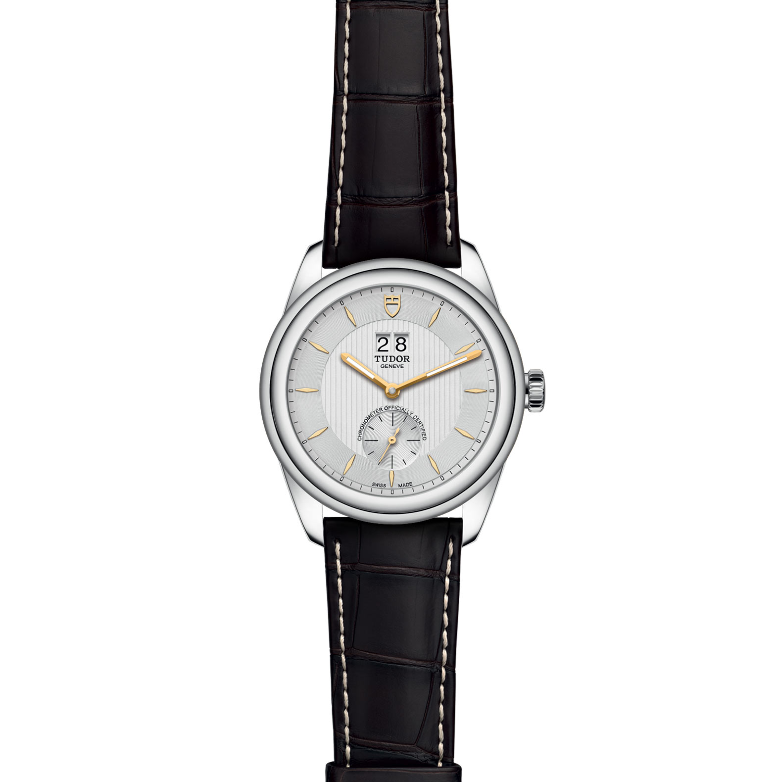 TUDOR Glamour Double Date M57100 0017 Frontfacing