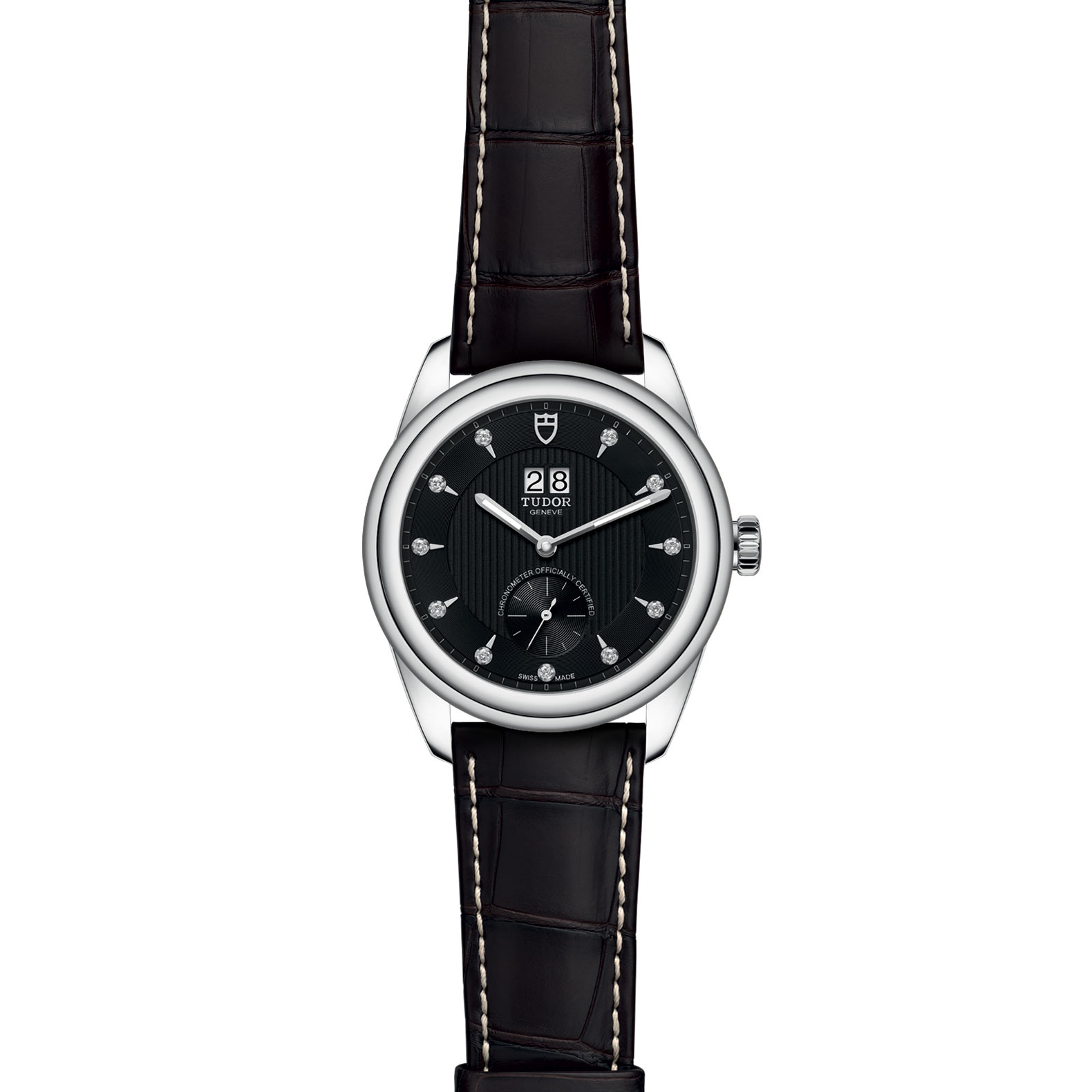 TUDOR Glamour Double Date M57100 0019 Frontfacing
