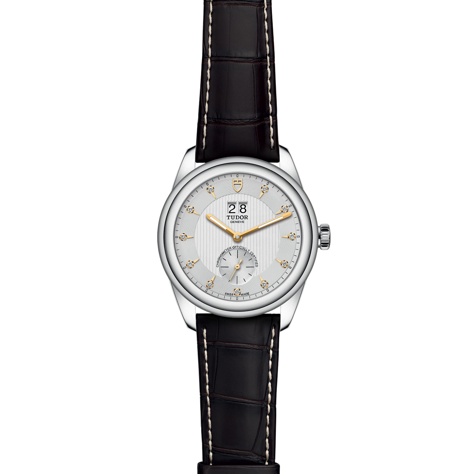 TUDOR Glamour Double Date M57100 0020 Frontfacing