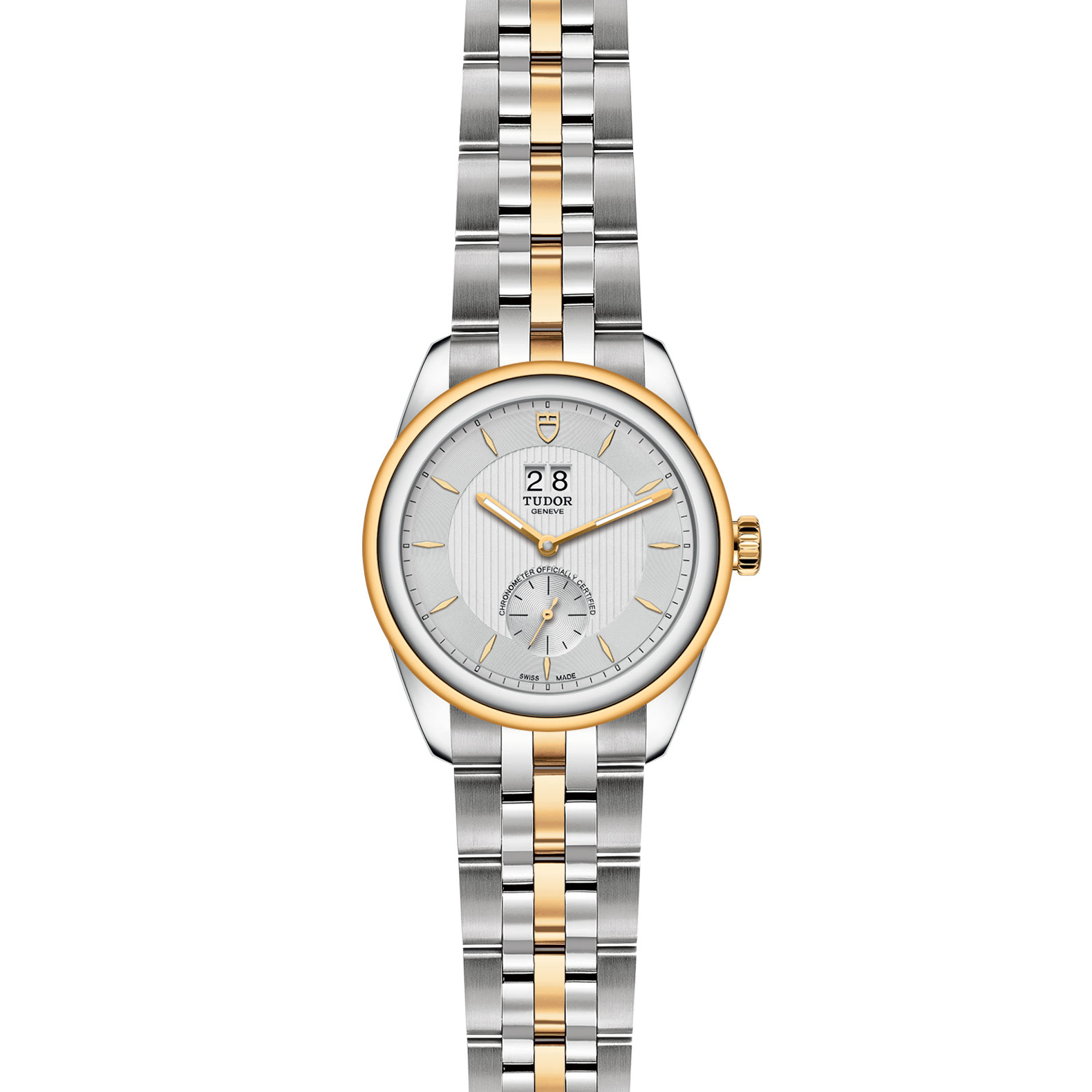 TUDOR Glamour Double Date M57103 0001 Frontfacing
