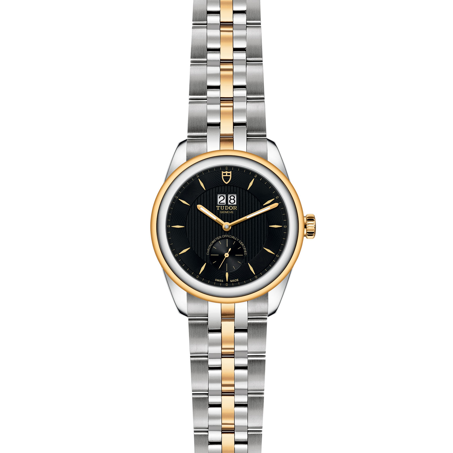 TUDOR Glamour Double Date M57103 0002 Frontfacing
