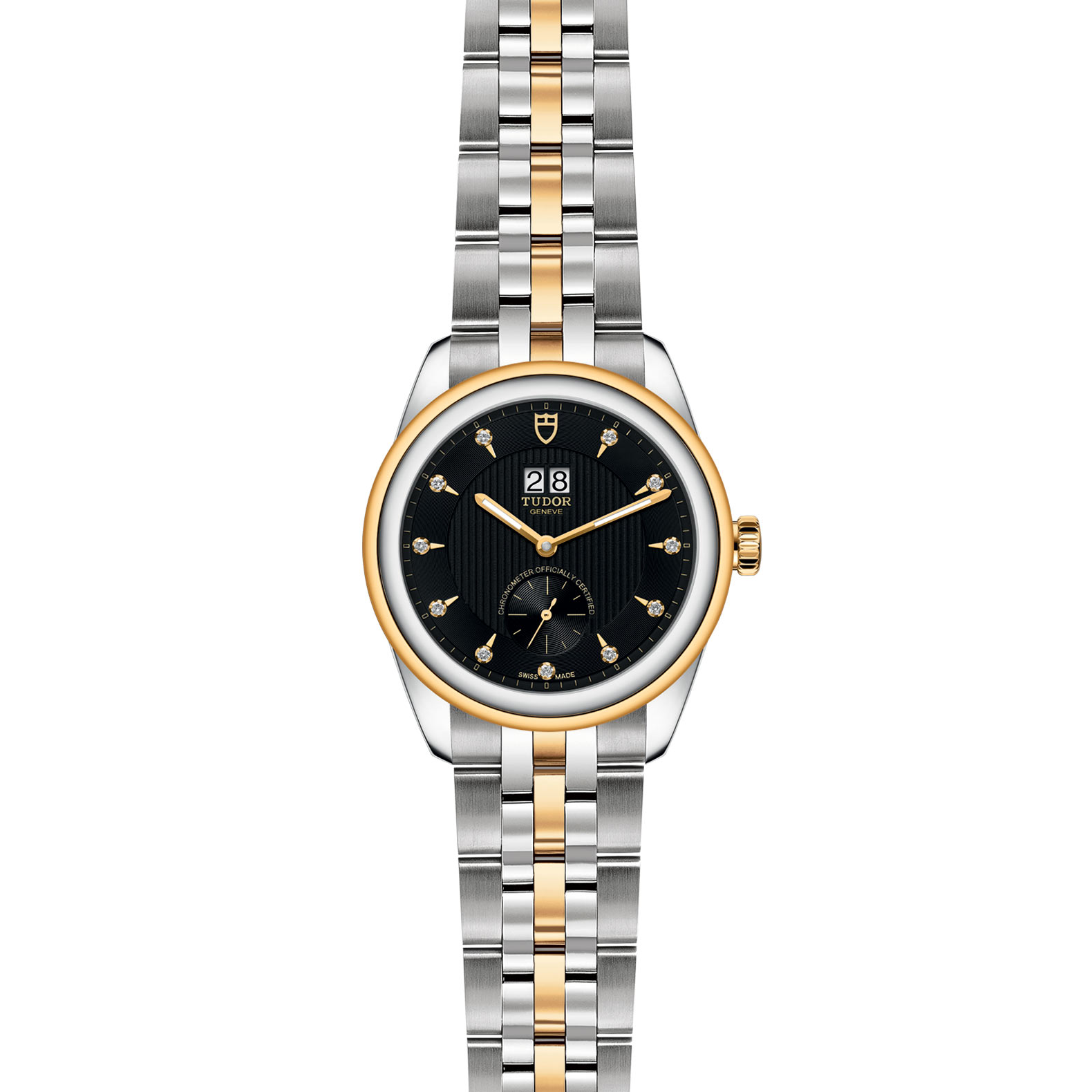 TUDOR Glamour Double Date M57103 0004 Frontfacing
