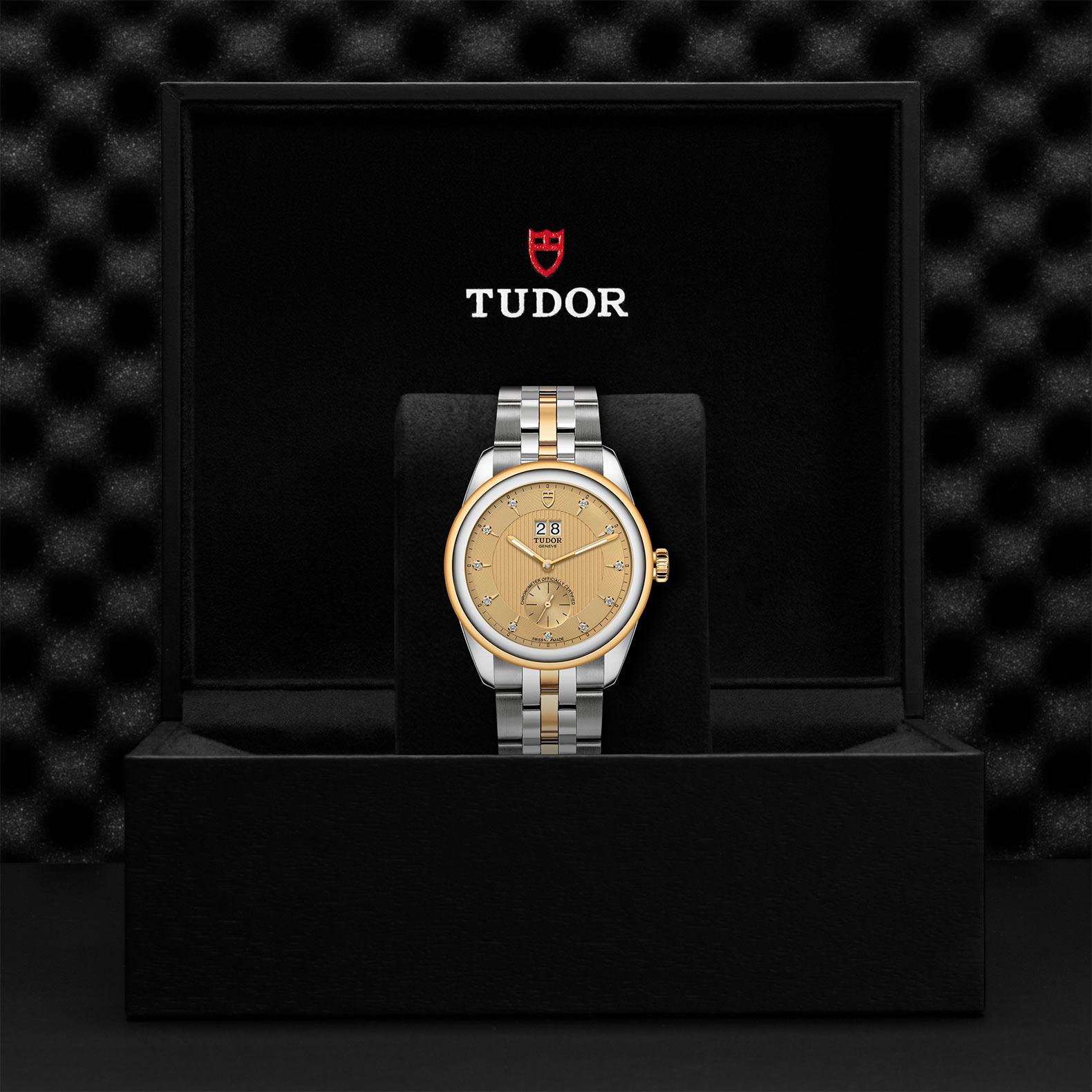 TUDOR Glamour Double Date M57103 0006 Presentation
