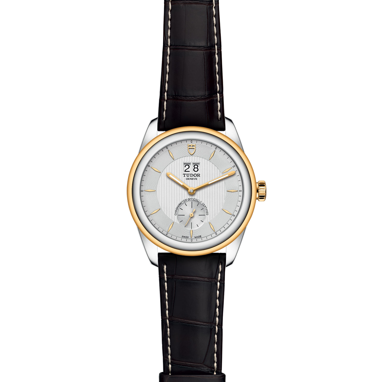 TUDOR Glamour Double Date M57103 0019 Frontfacing