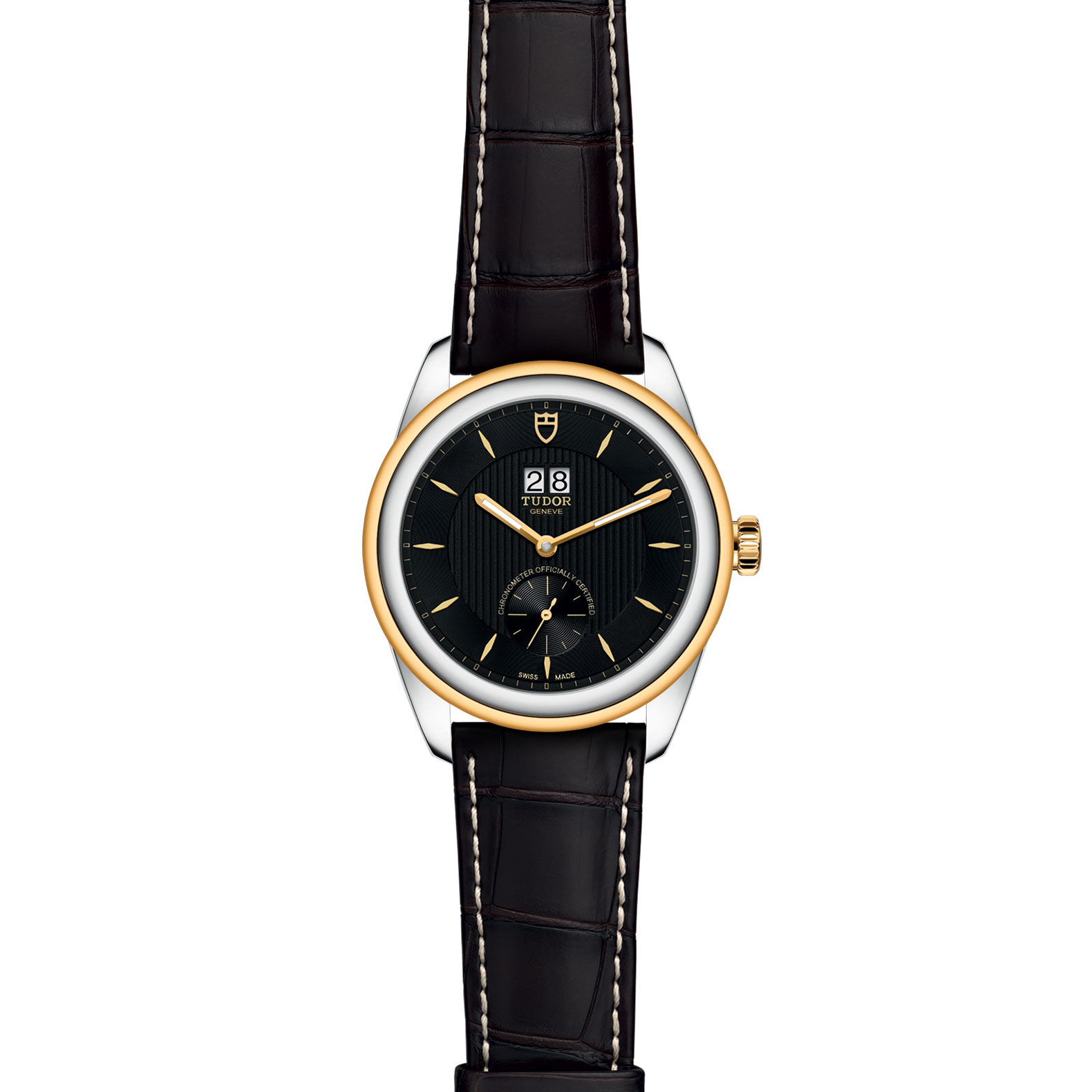TUDOR Glamour Double Date M57103 0020 Frontfacing