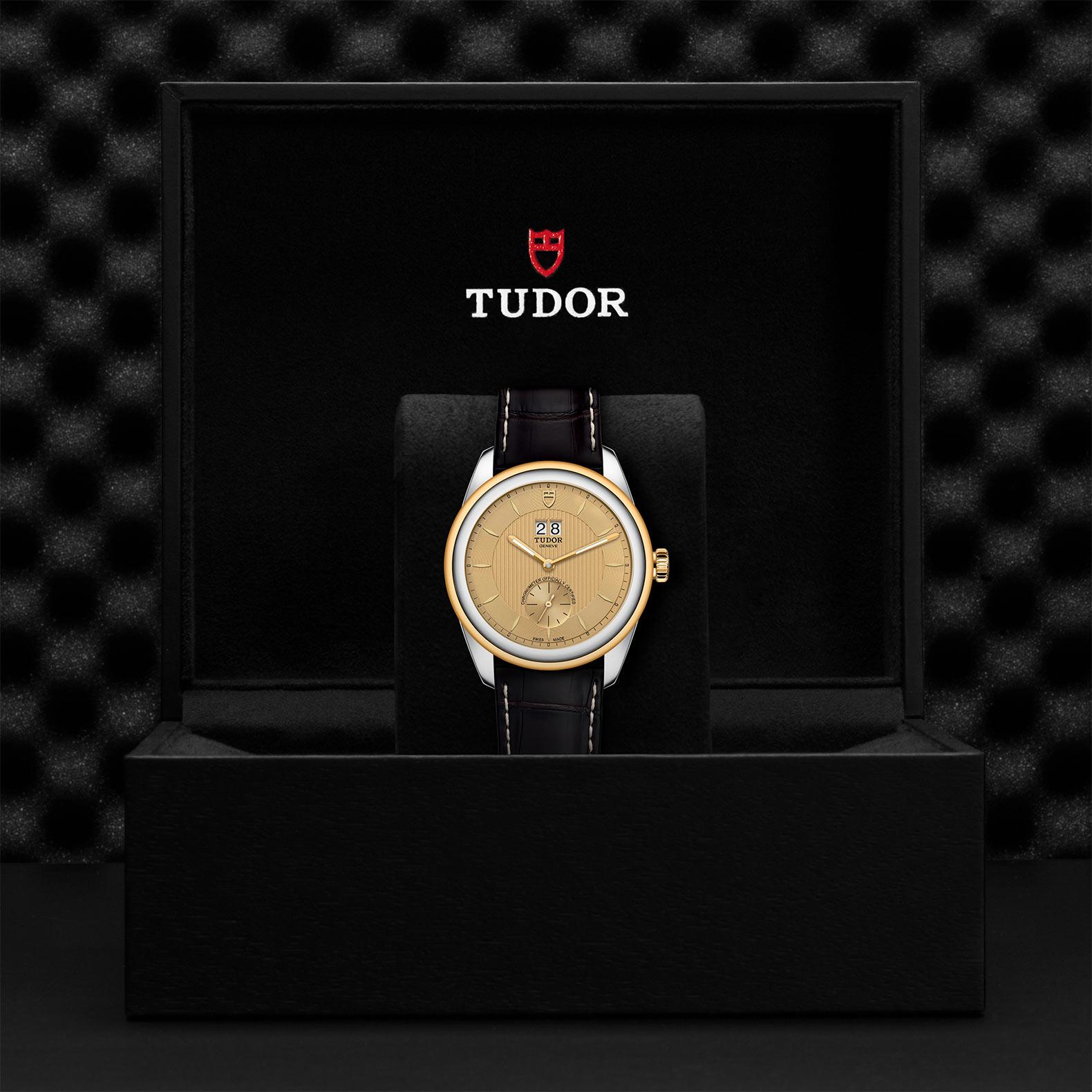 TUDOR Glamour Double Date M57103 0021 Presentationbox
