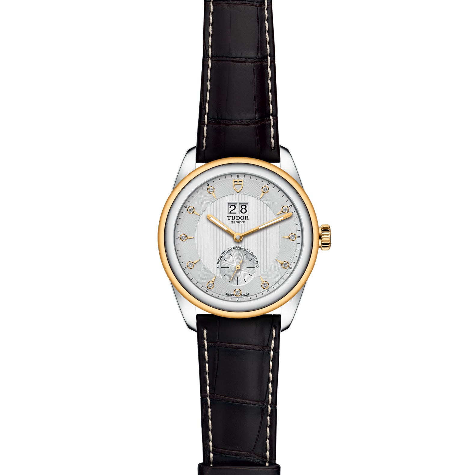 TUDOR Glamour Double Date M57103 0023 Frontfacing
