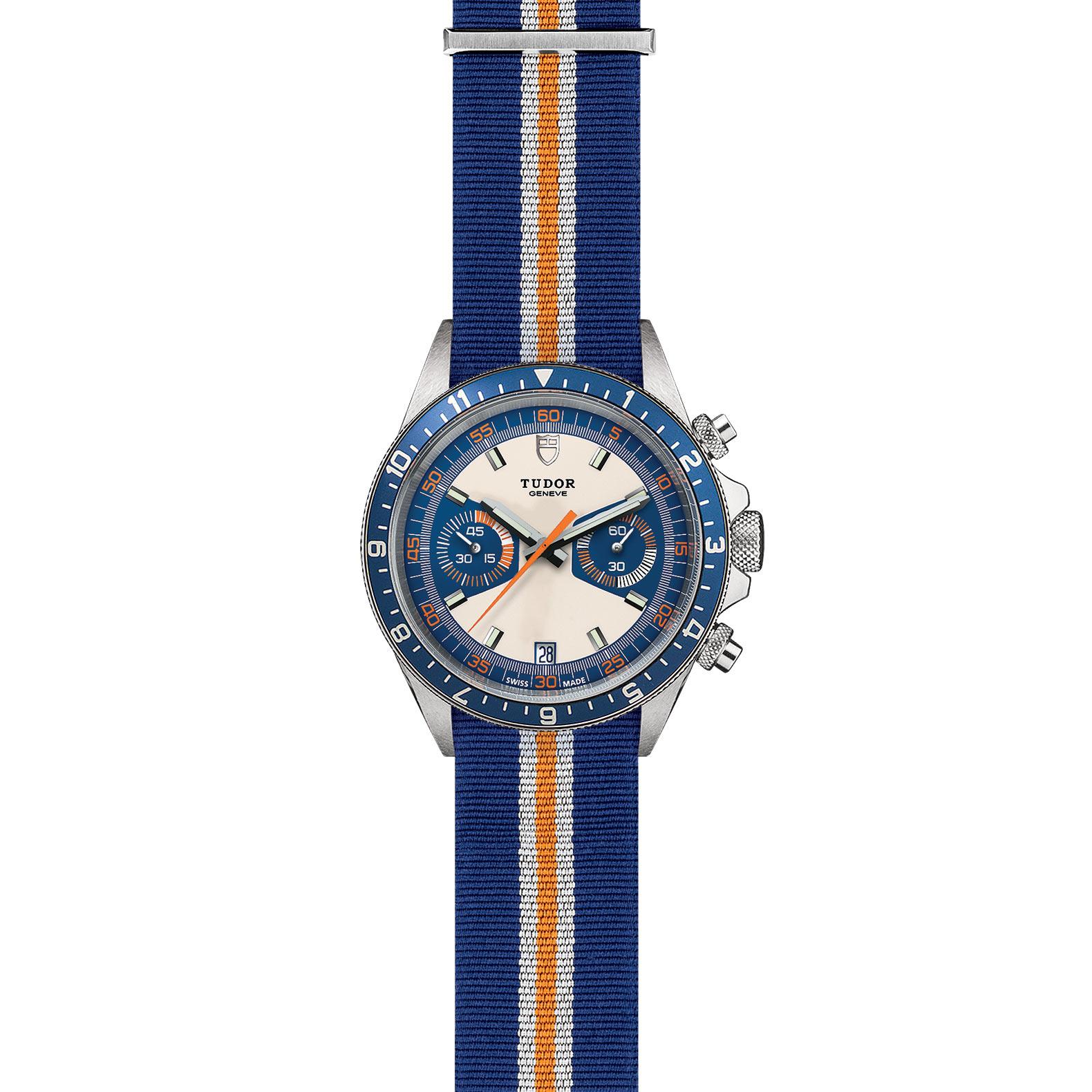 TUDOR Heritage Chrono Blue M70330B 0003 Frontfacing