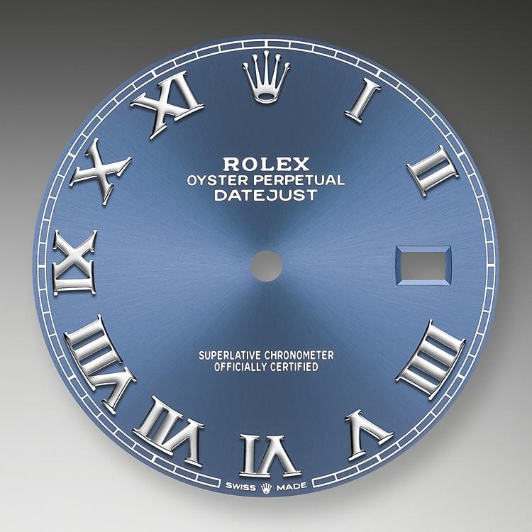 azzurro blue dial oystersteel 51814 g 41