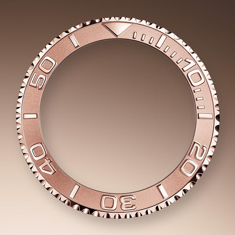 bidirectional rotatable bezel oystersteel and everose gold 51575