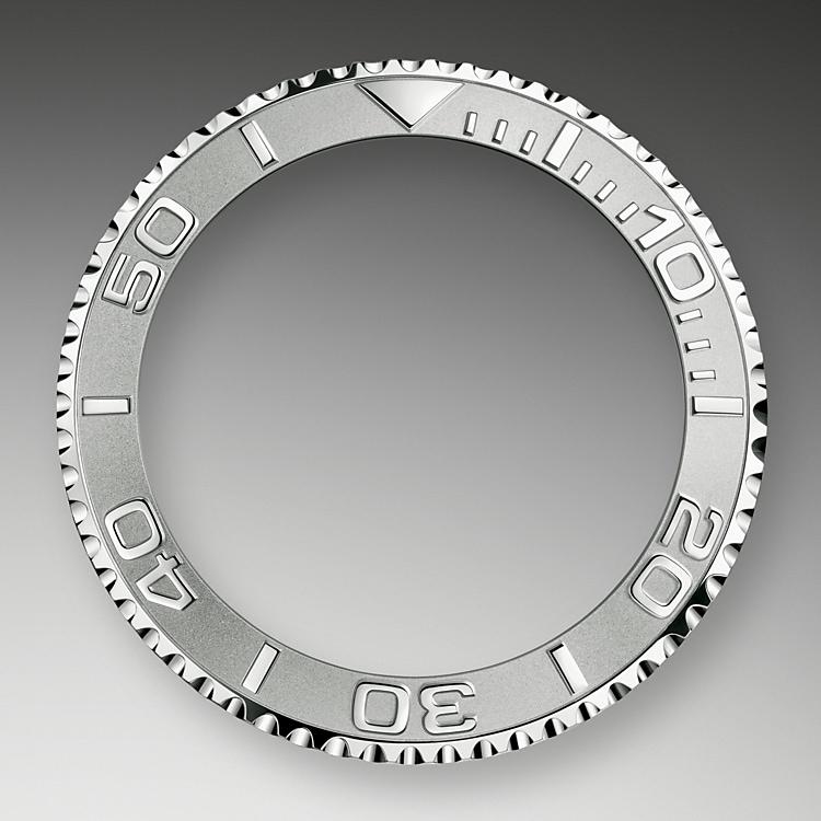 bidirectional rotatable bezel oystersteel and platinum 51576