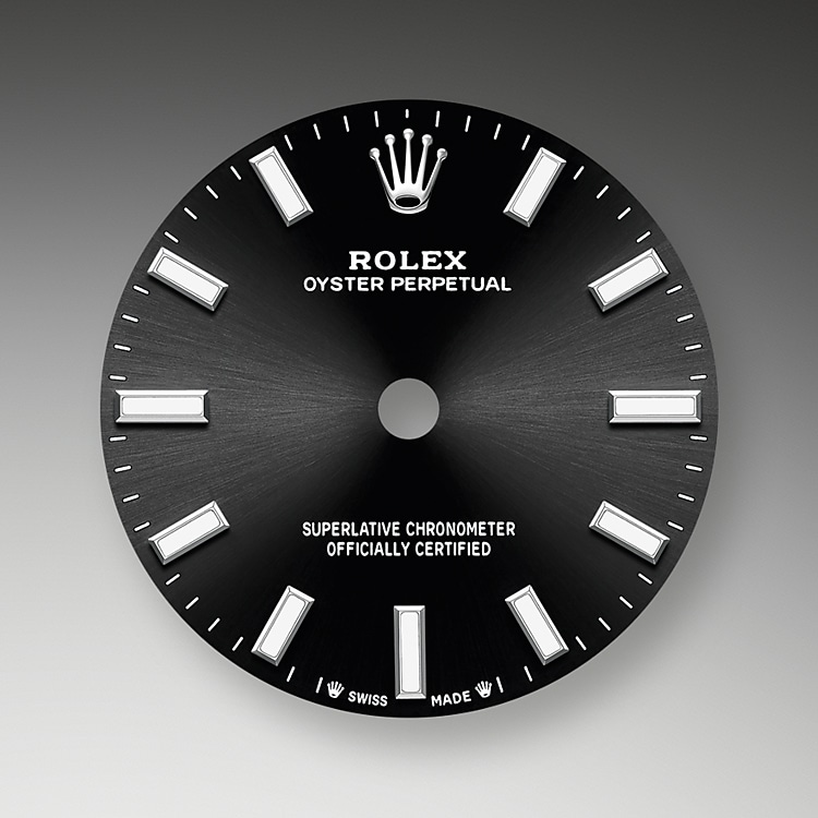 bright black dial oystersteel 52086 g 28