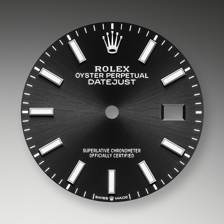 bright black dial oystersteel and white gold 51194 g 36