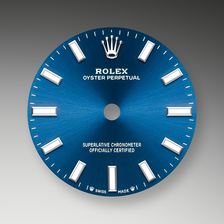 bright blue dial oystersteel 52087 g 28
