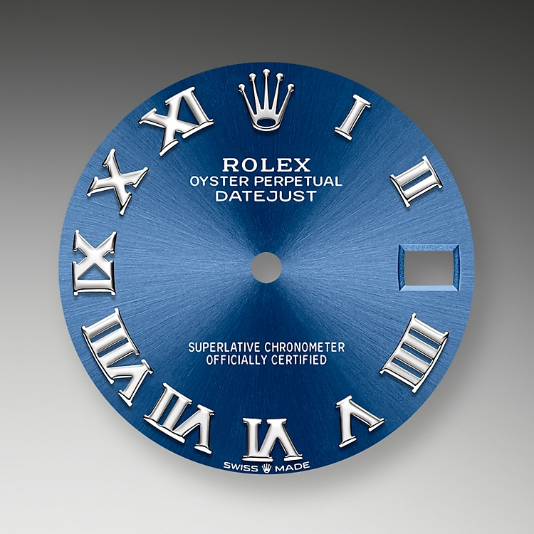 bright blue dial oystersteel and white gold 52621 g 31