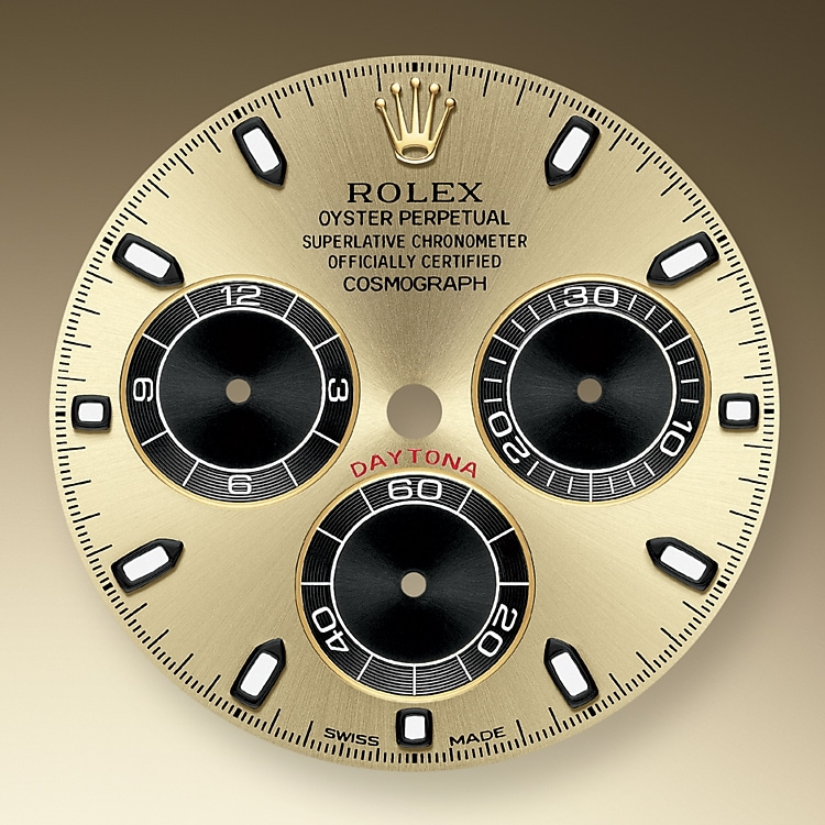 champagne colour and black dial yellow gold 51038 y 40