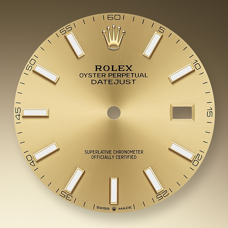 champagne colour dial oystersteel and yellow gold 50748 g 41