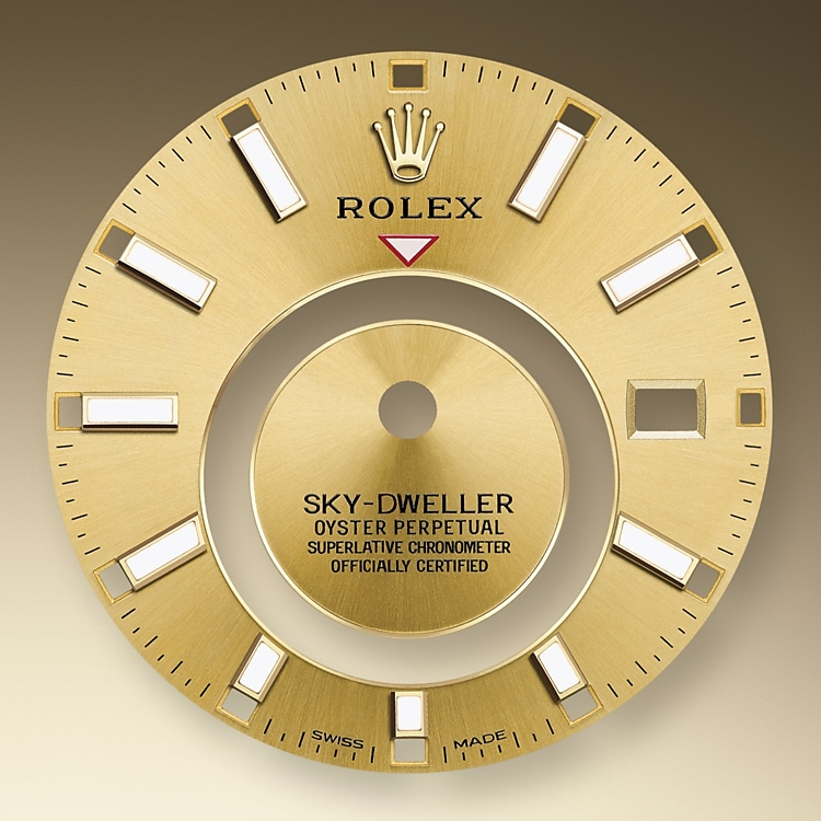 champagne colour dial oystersteel and yellow gold 50869 g 42