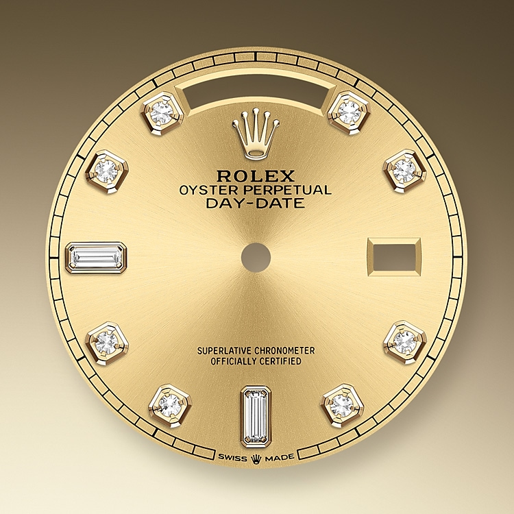 champagne colour dial yellow gold 46160 y 36