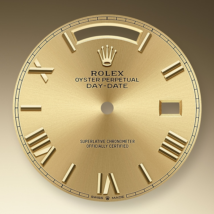 champagne colour dial yellow gold 50629 y 40