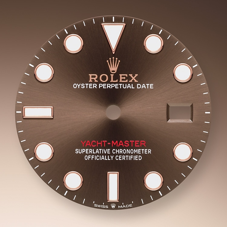 chocolate dial oystersteel and everose gold 51577 g 40