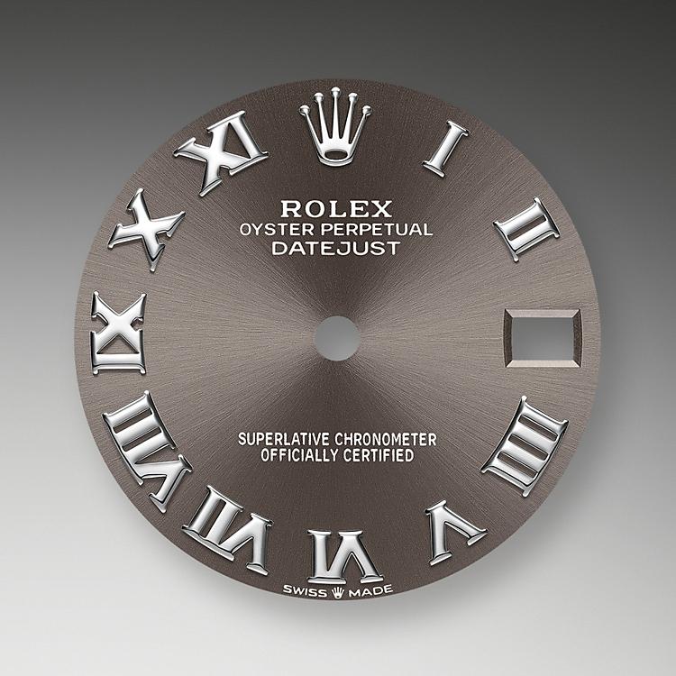 dark grey dial oystersteel 52066 g 31