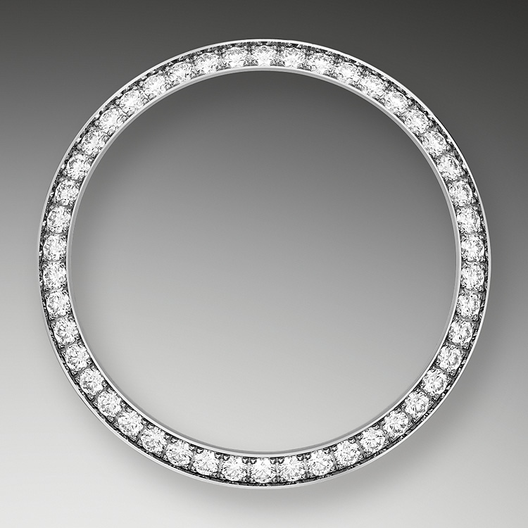 diamond set bezel white gold and diamonds 50601