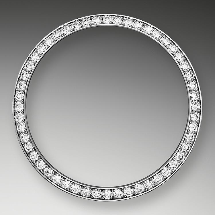 diamond set bezel white gold and diamonds 50912