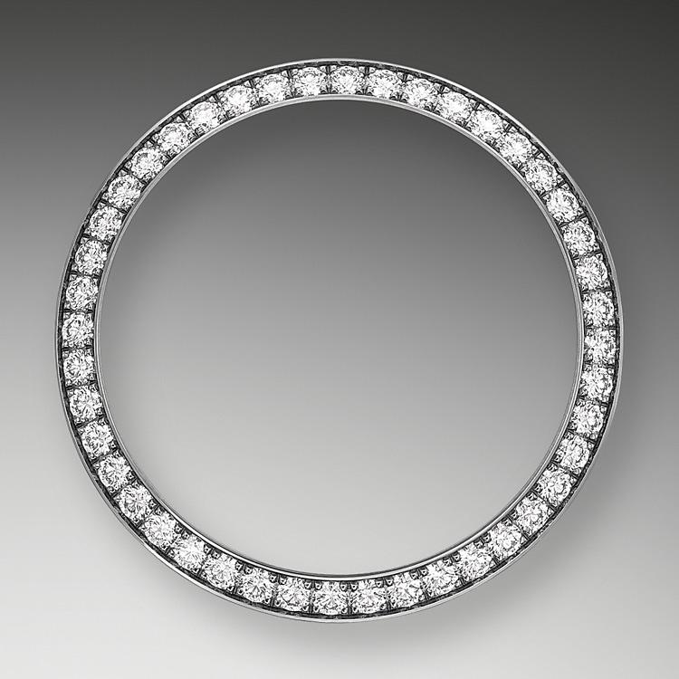 diamond set bezel white gold and diamonds 52158