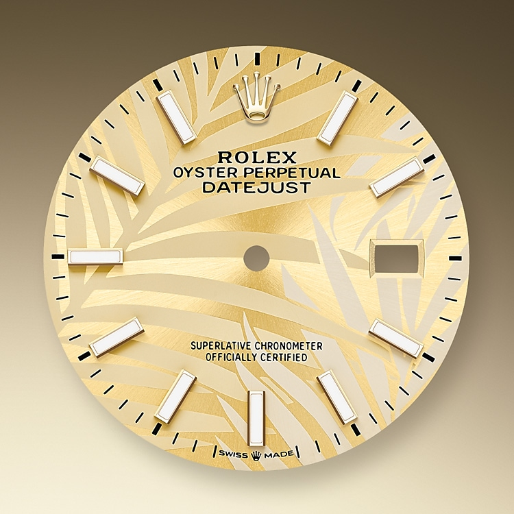 golden dial oystersteel and yellow gold 52492 g 36